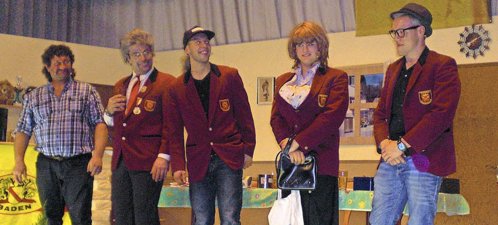 Tosender Applaus für die Kleinwiesentäler Theatergruppe    Foto: Birgit Kiefer