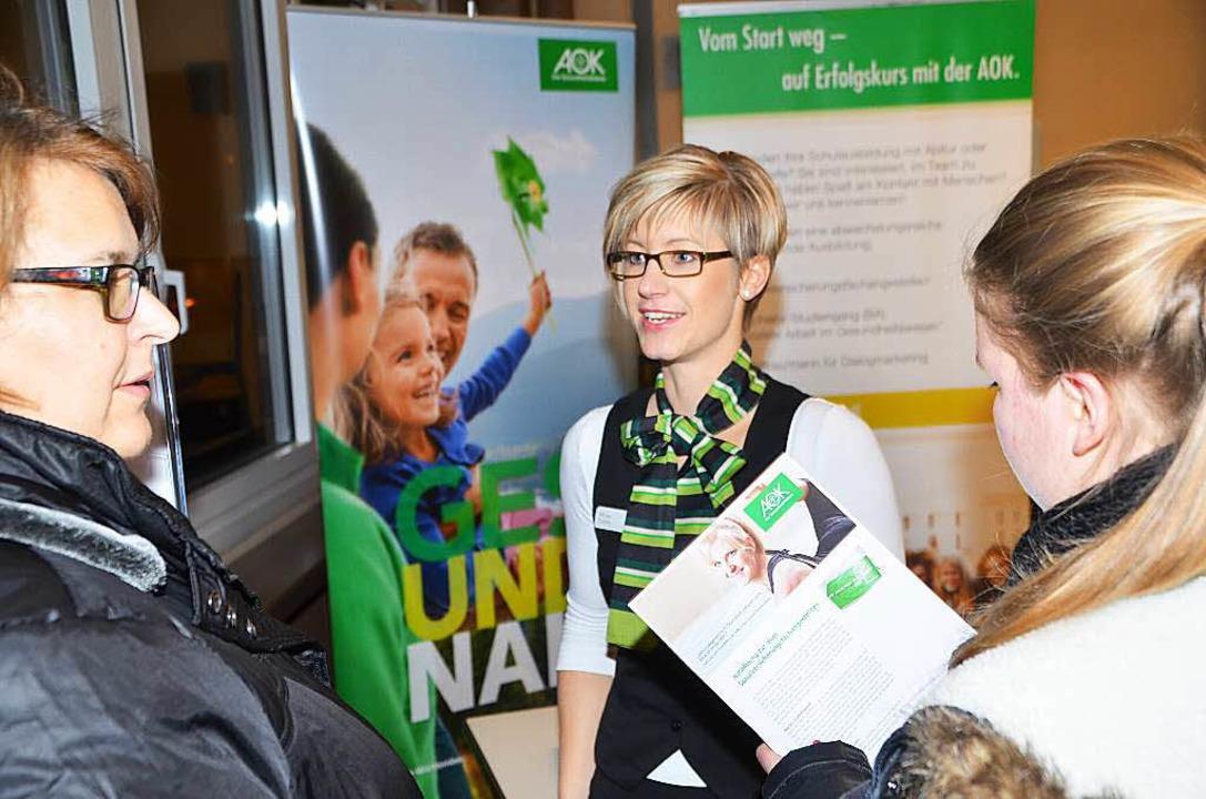 <Text>In der Breisacher Realschule kon...usbildungsplätze informieren.  </Text>  | Foto: Hans-Jochen Voigt