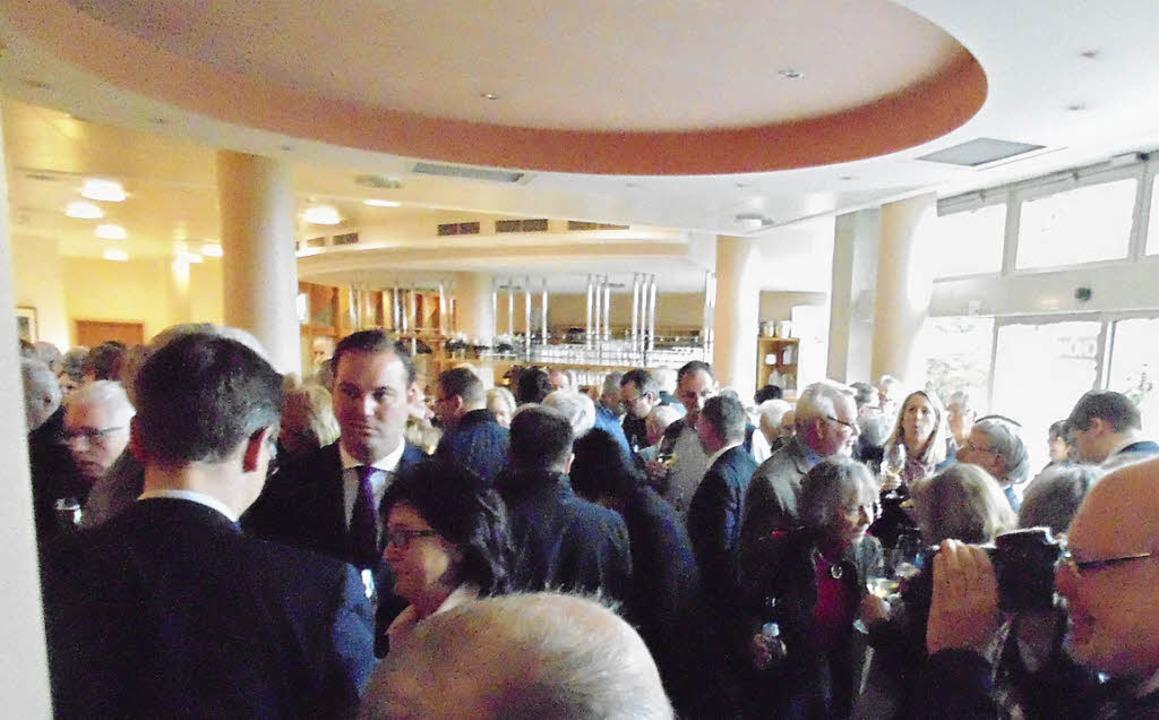 Rund 200 Gäste waren am Samstag zum Ne...avillon des Reha-Klinikums  gekommen.     Foto: Michael Gottstein