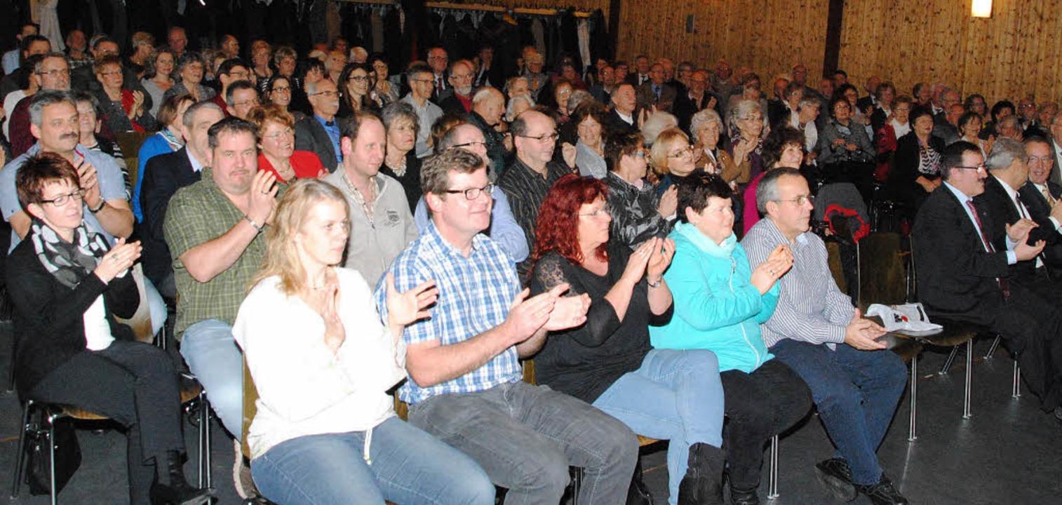 Rund 200 Gäste kamen zum Neujahrsempfang des TV Weil   | Foto: Sedlak