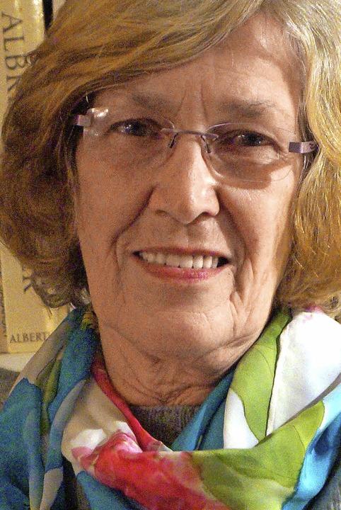 Rosemarie von Gaudecker (74) war frühe...n bringt sie Ausländern Deutsch bei.      Foto: Silke Hartenstein