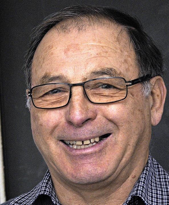Horst Meier ist seit 40 Jahren  Schlossermeister.     Foto: B. Schaller