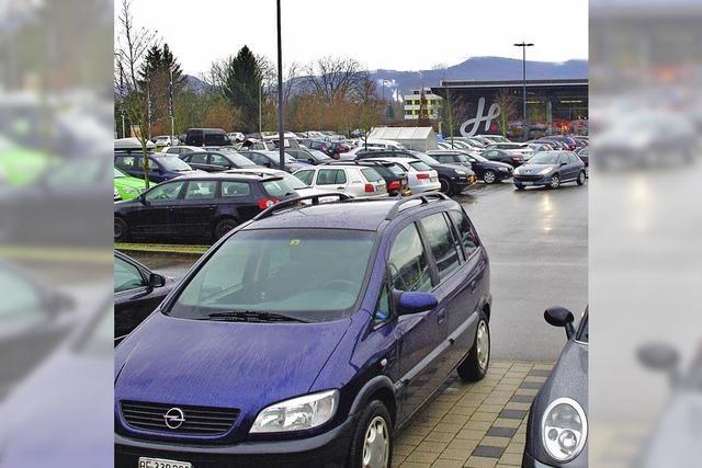 Freie Parkplätze sind Mangelware