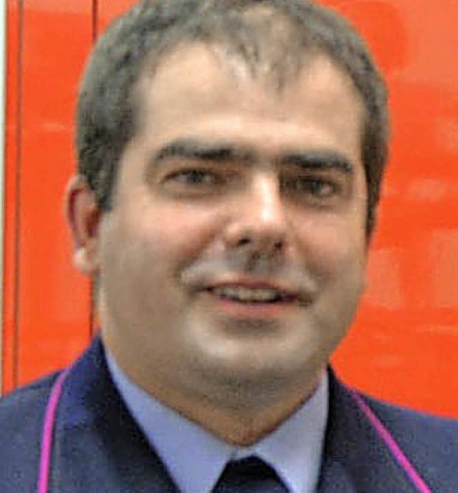 Marc Thoma wurde als stellvertretender...lungskommandant einstimmig bestätigt.   | Foto: Vollmar