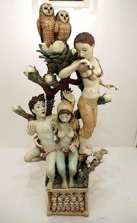 Figurinen von Urmar Herrmann mit diesem frappierenden Elfencharme    | Foto: Christoph Breithaupt
