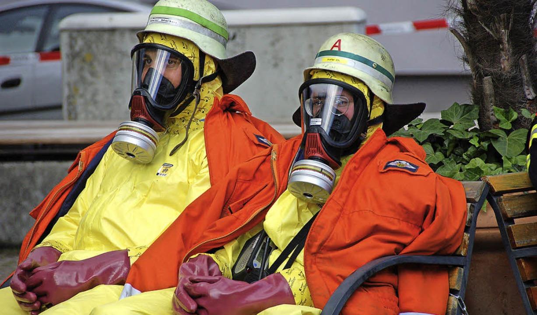 Der Kauf neuer Atemschutzgeräte soll d...von Offenburg aus organisiert werden.     Foto: archivfoto: helmut seller