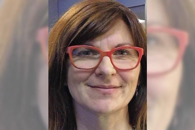 Vetriebsmanagerin Isabelle Maillet lebt im Elsass und arbeitet in der Ortenau