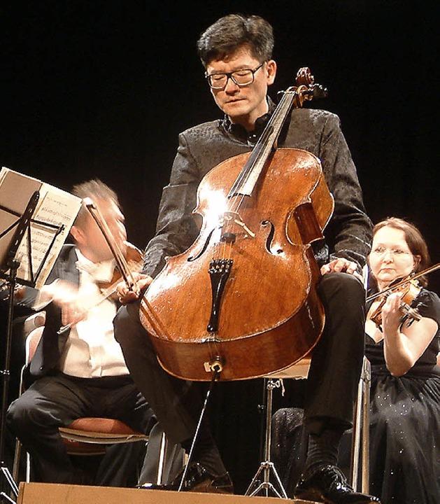 Wen-Sinn Yang am Cello   | Foto: Frey