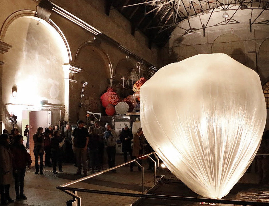 Eröffnung des Arts Birthday 2015 im E-Werk    Foto: Linn-Marie Hahn