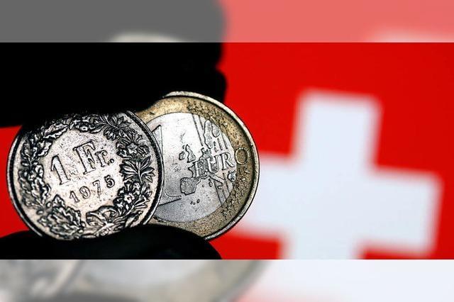 Trotz starkem Franken kein Shopping-Ansturm in Südbaden