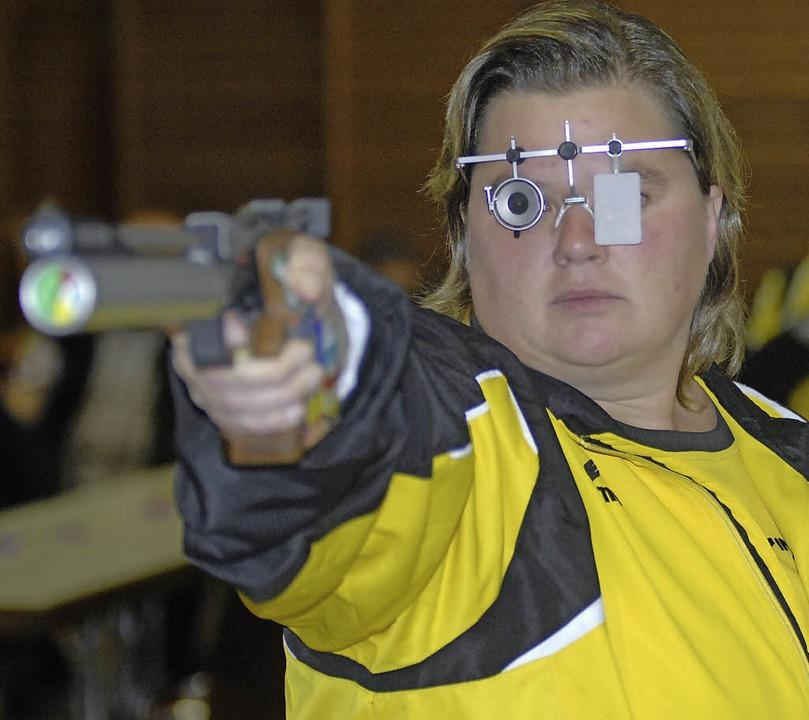 Punktet für  ESV Weil gegen Ludwigsburg; Nathalie Schelken     Foto: Schuster