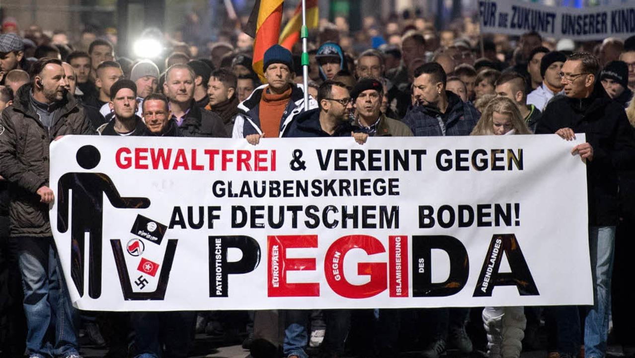 Aus Sicherheitsgründen wird es eine so...Demonstration am Montag nicht geben.    | Foto: DPA