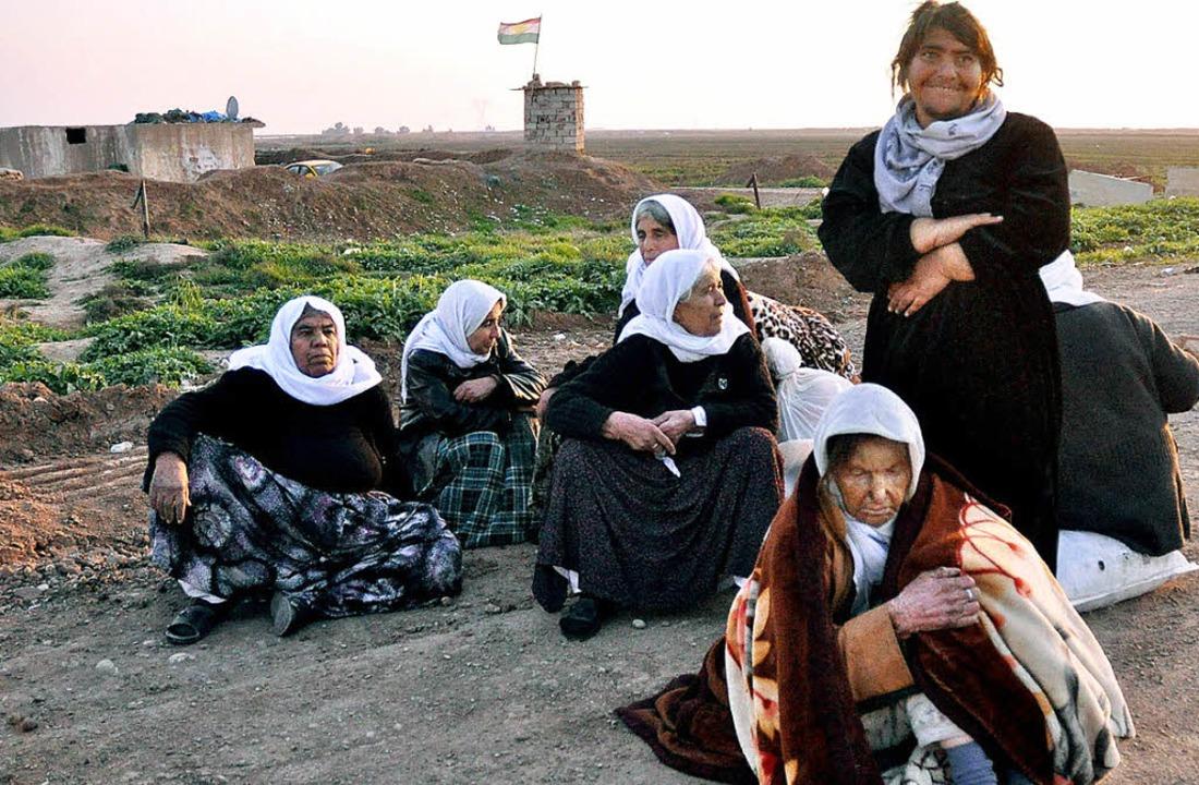 Jesidische Frauen in Kirkuk   | Foto: dpa