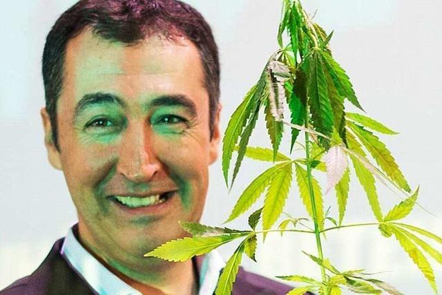 Justiz ermittelt gegen Özdemir wegen Cannabis-Pflanze