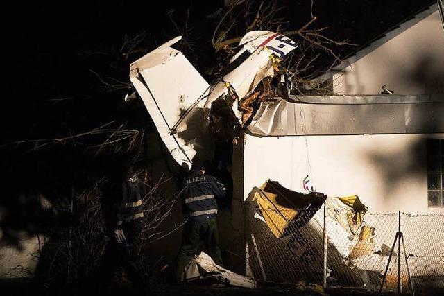 Sportflugzeug bei Göppingen abgestürzt: Zwei Tote