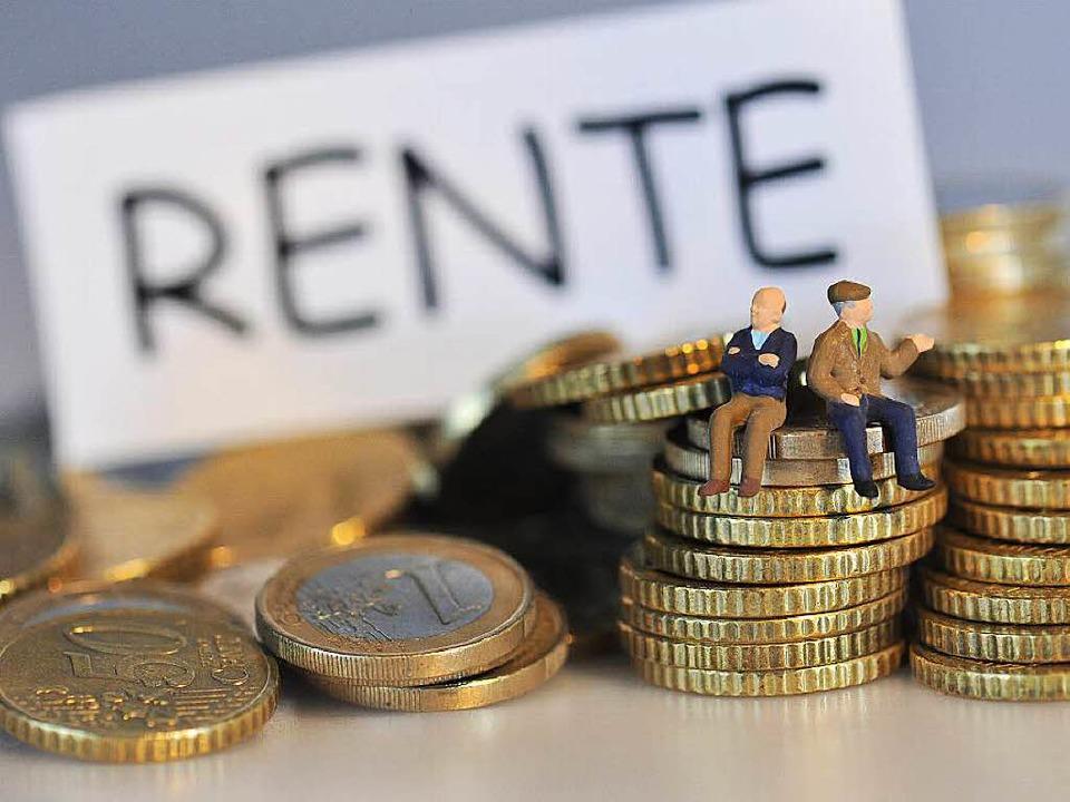 Die Rente scheint zu reichen.  | Foto: dpa