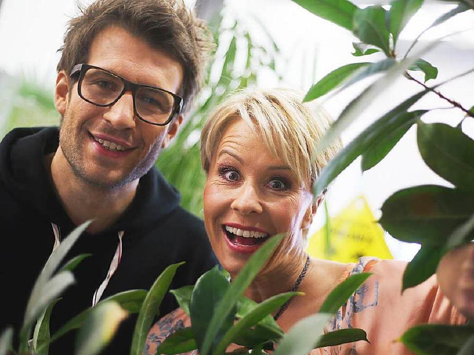 """Sonja Zietlow und Daniel Hartwich, Mod...ein Star - Holt mich hier raus!""""    Foto: dpa"""