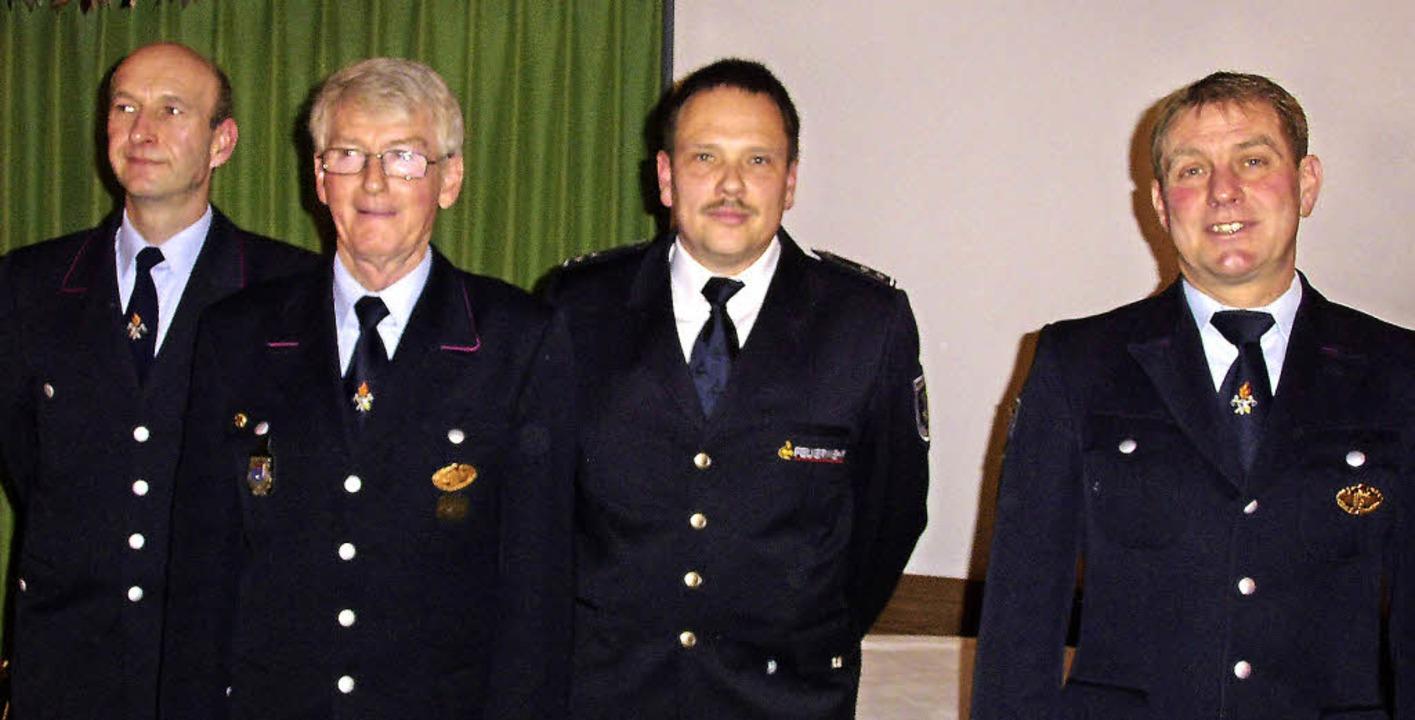 Der neue Leiter der Altersmannschaft, ...d Gesamtkommandant Hansjörg Ketterer.   | Foto: Cornelia Selz