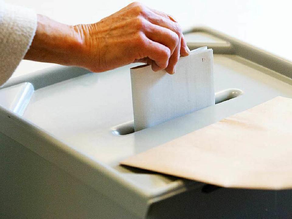 Die Wahlbeteiligung bei der OB-Wahl in Oberkirch lag bei 26 Prozent.    Foto: dpa