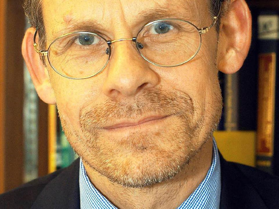 Hält Staatsanleihenkäufe für sinnvoll: Oliver Landmann  | Foto: Ingo Schneider