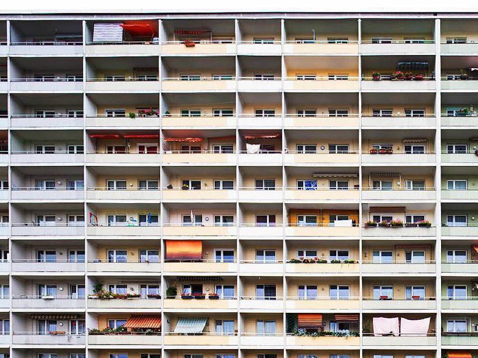 Freiburg braucht dringend günstige Mie...zlos, solche Sozialwohnungen zu bauen.  | Foto: dpa