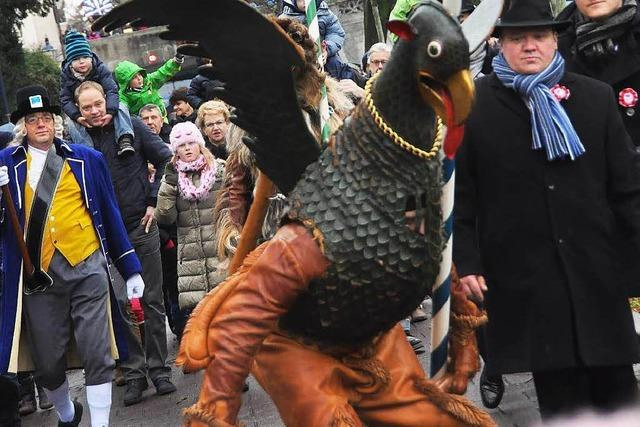 Fotos: Kleinbasel feiert Vogel Gryff
