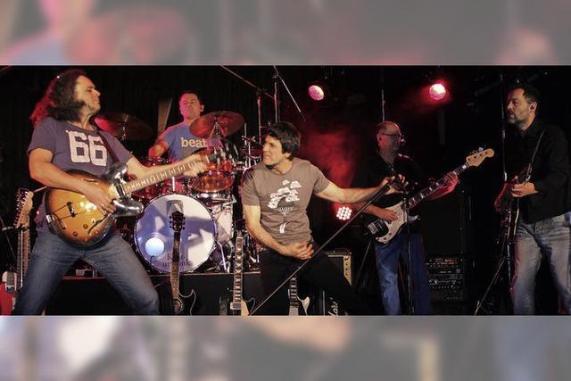 Band zündet ein echtes Rock-Feuerwerk