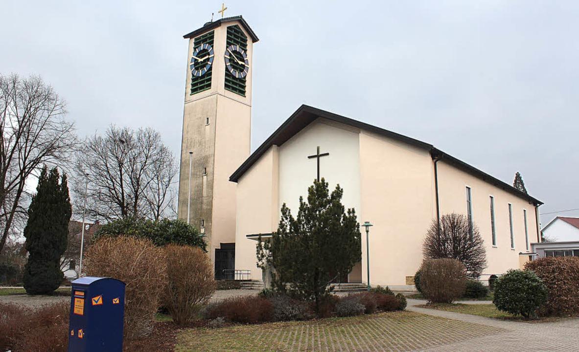 Die St. Gallus-Kirche in March-Hugstet...gefeiert werden.  Sie wurde abgesagt.   | Foto: Mario Schöneberg