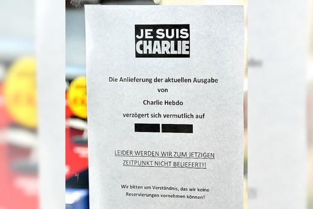 Fast alle warten noch auf Charlie Hebdo