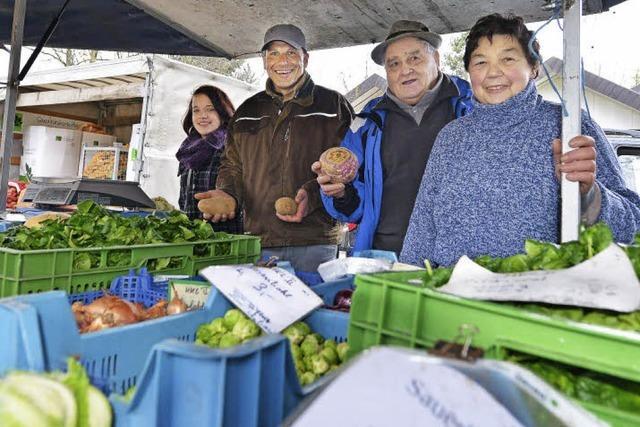 Viel Einsatz für Rosenkohl und Oliven