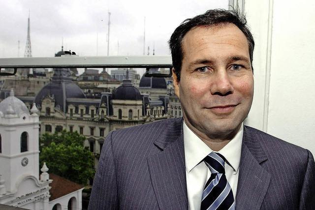 Rätselhaft zu Tode gekommen: Der regierungskritische Staatsanwalt Alberto Nisman