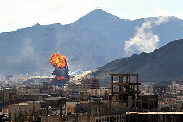 Rebellen stürmen Präsidentenpalast im Jemen