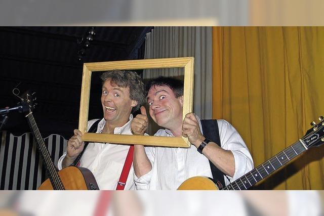 Mark & Simon in der Wodanhalle in Freiburg