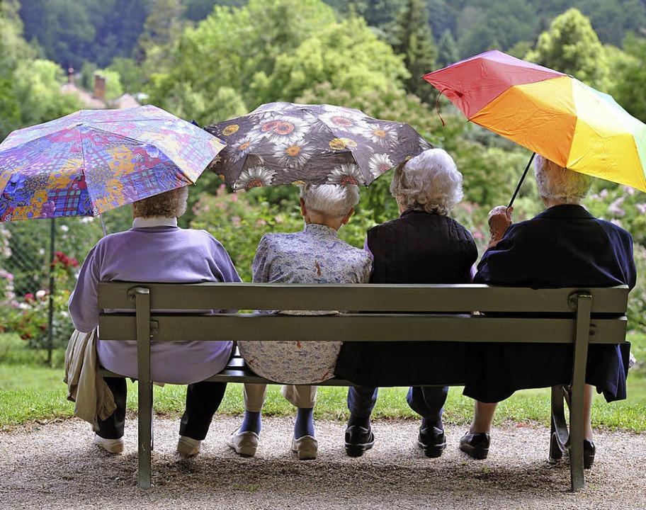 Senioren soll's auch in Schliengen gut gehen.   | Foto: dpa
