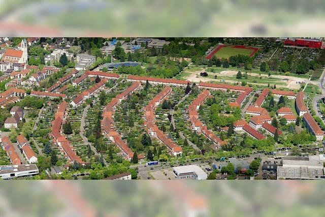 Streit um die Fensterfarbe in der denkmalgeschützten Gartenstadt