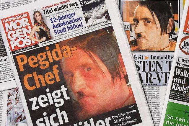 Hitler-Fotos: Pegida-Chef Bachmann tritt zurück