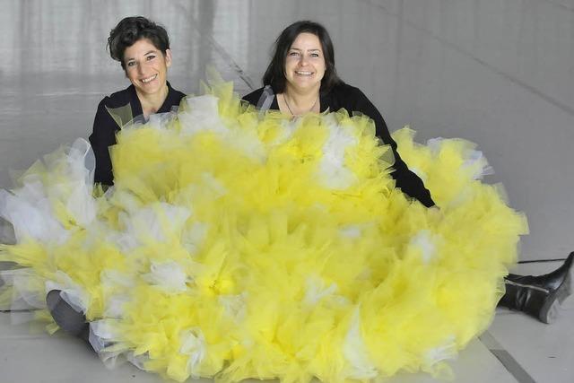 Anne Kersting und Inga Wagner sind nun zu zweit verantwortlich für das Tanztheater in Freiburg
