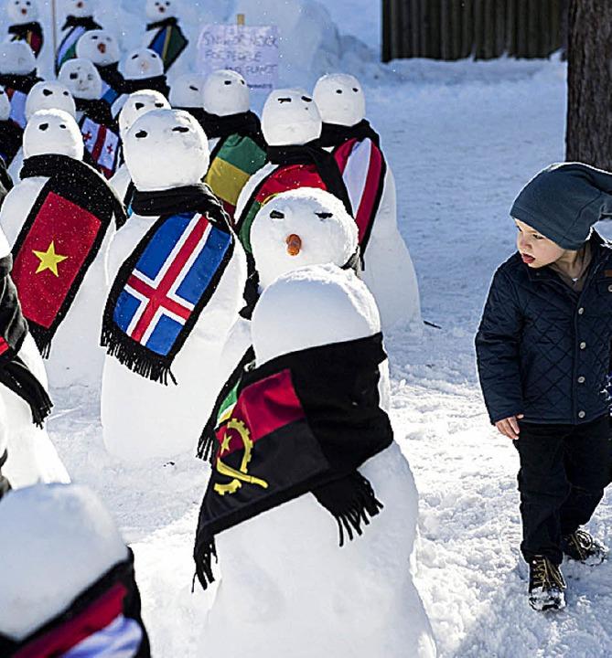 Auch das ist Davos.  | Foto: dpa