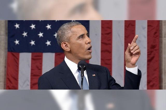 Barack Obama gibt sich zuversichtlich in seiner Rede zur Lage der Nation