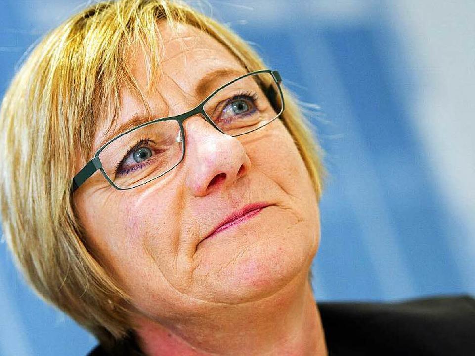 Abgeblitzt beim Innenminister: Edith Sitzmann.  | Foto: dpa