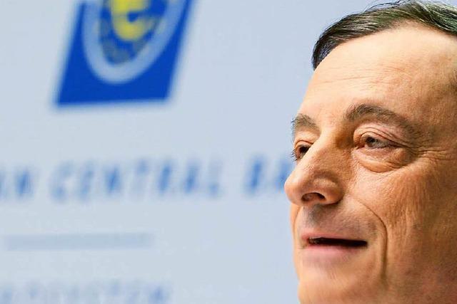 EZB will pro Monat Anleihen für 60 Milliarden Euro kaufen