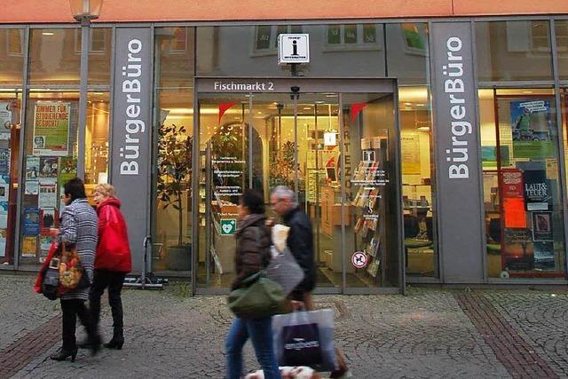 Bürgerbüro Offenburg wegen Umzugs geschlossen