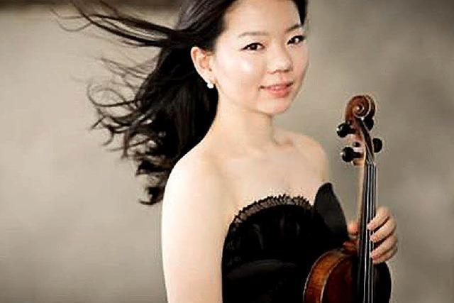 Sojung Kim in Schliengen: Violine küsst Klavier