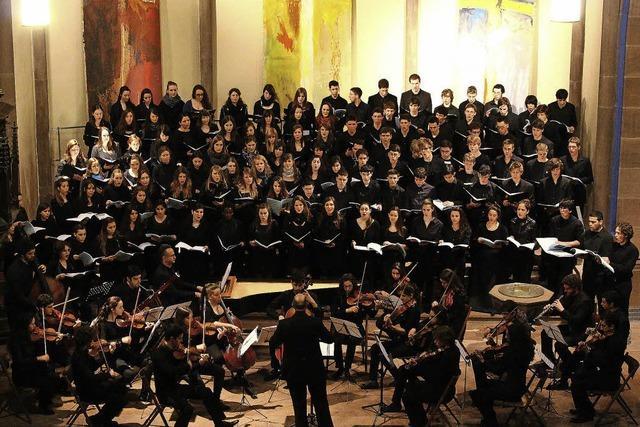 Chor der Thelma Yellin High School gastiert im Schillersaal in Offenburg