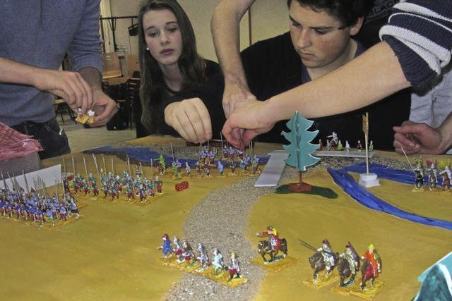 Die Schlacht bei Mailand