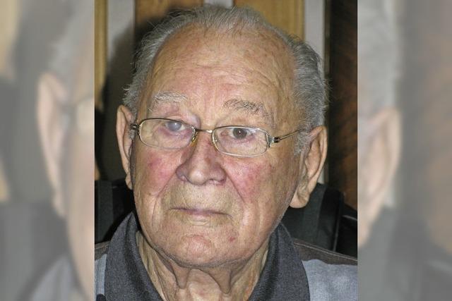 Karl Morath wurde 90