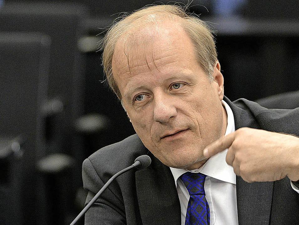 Jürgen Filius (Grüne) sitzt nun  im NSU-Untersuchungsausschuss.   | Foto: dpa