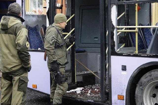 Separatisten übernehmen Flughafenruine von Donezk
