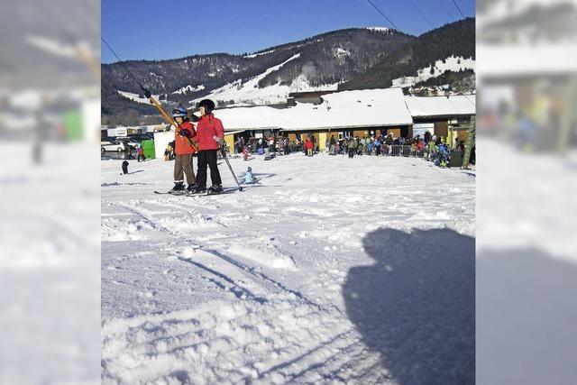 Skikurse am Spitzenberglift in Bernau