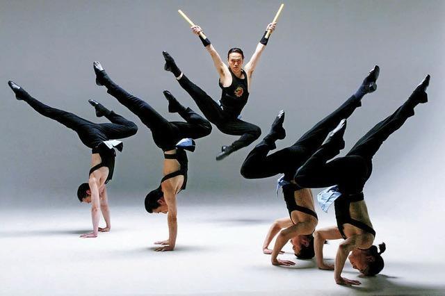 Masashi Action Ensemble in der Oberrheinhalle in Offenburg